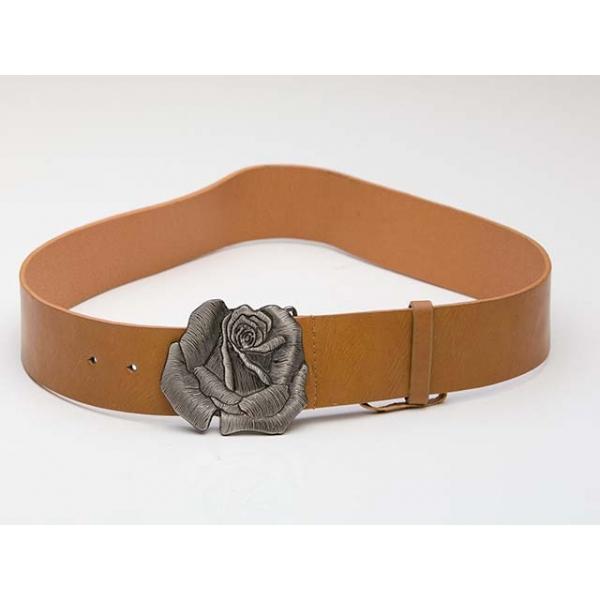 Texan Rose Vintage Leather Belt