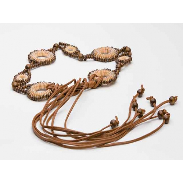 Wooden Dreamcatcher Waist Belt
