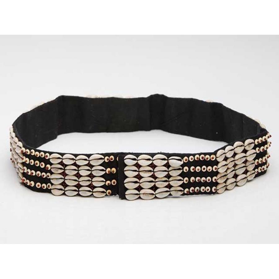 Beachy Babe Vintage Shell Waist Belt