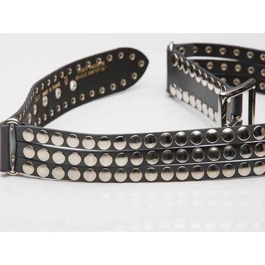 Shredded And Studded Vintage Punk Belt