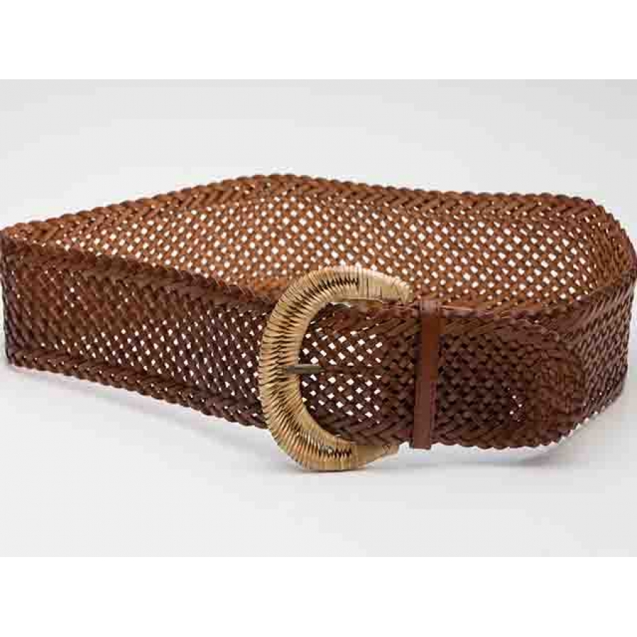 Tropicana Vintage Woven Belt