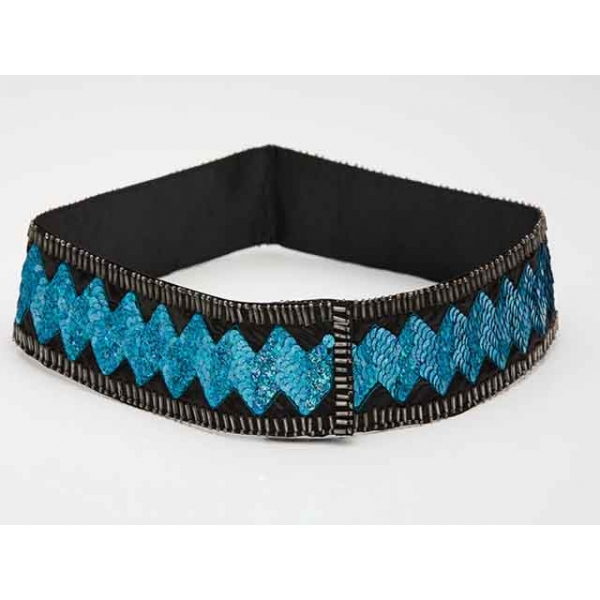 Ziggy Stadust Vintage Sequin Disco Belt
