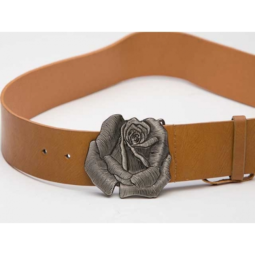 Texan Rose Vintage Leather Belt