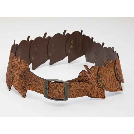 Fallen Leaves Vintage Leather Belt