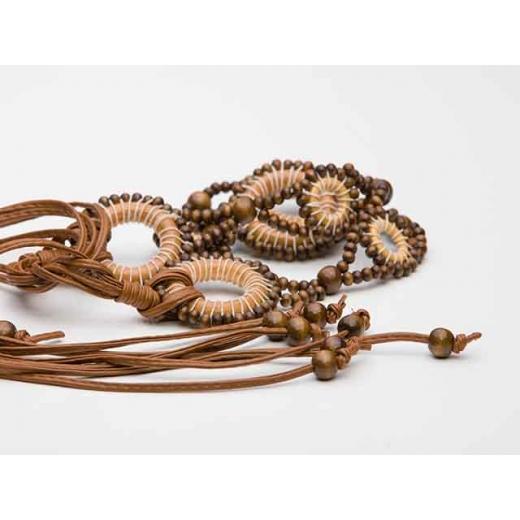 Wooden Dreamcatcher Vintage Waist Belt