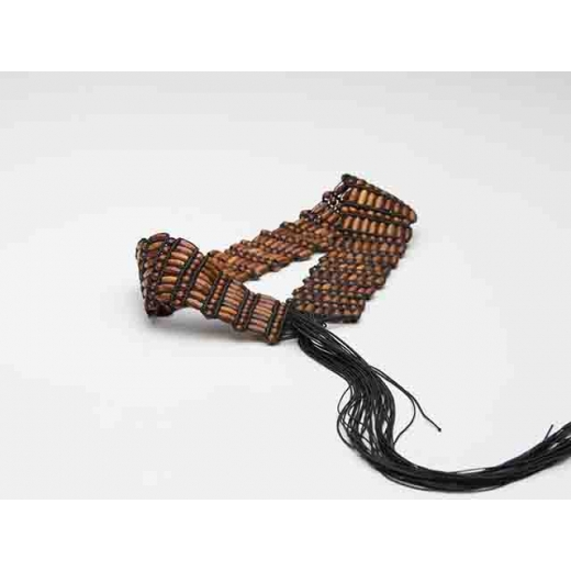 I Dream Of Tiki Vintage Wooden Wrap Belt