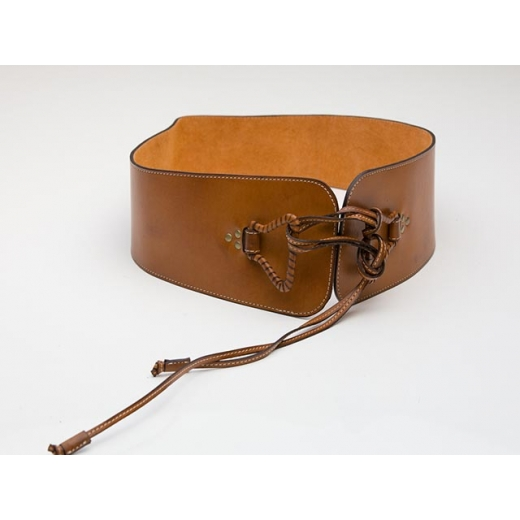 Wrapped Up In It Vintage Wide Leather Waist Belt
