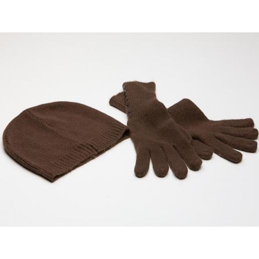 Uptown Girl Vintage Chocolate Brown Winter Beanie ...