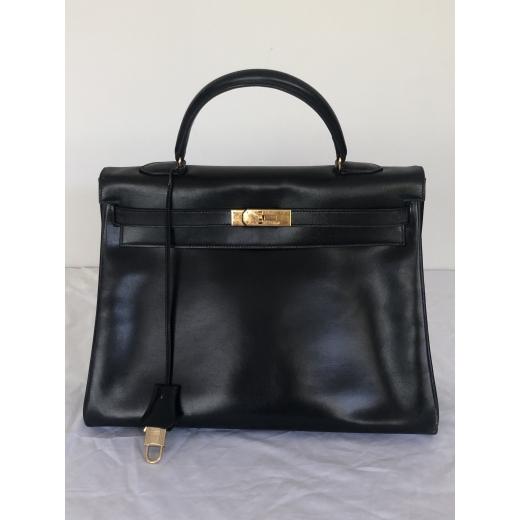 Hermès Kelly Bag Black 1992