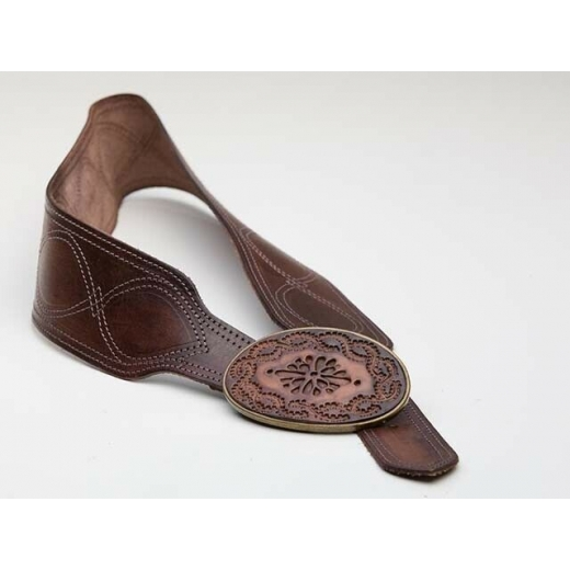 Rodeo Chic Wide Vintage Leather Belt