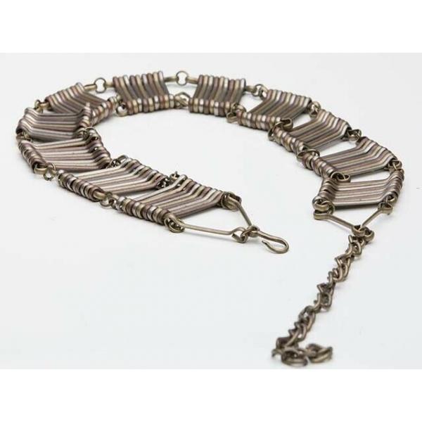 Vintage 80's Rocker Heavy Metal Link Belt