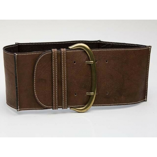 Boheme Vintage  Brown Leather Waist Belt