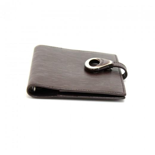 Louis Vuitton Moka Brown Epi Leather Agenda Cover MM