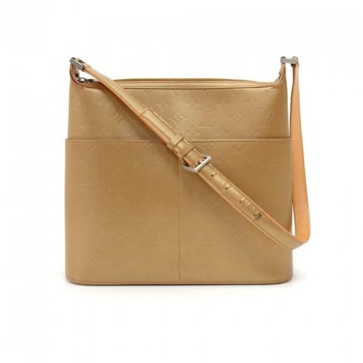 Louis Vuitton Sutter Gold Monogram Matt Large Shou...