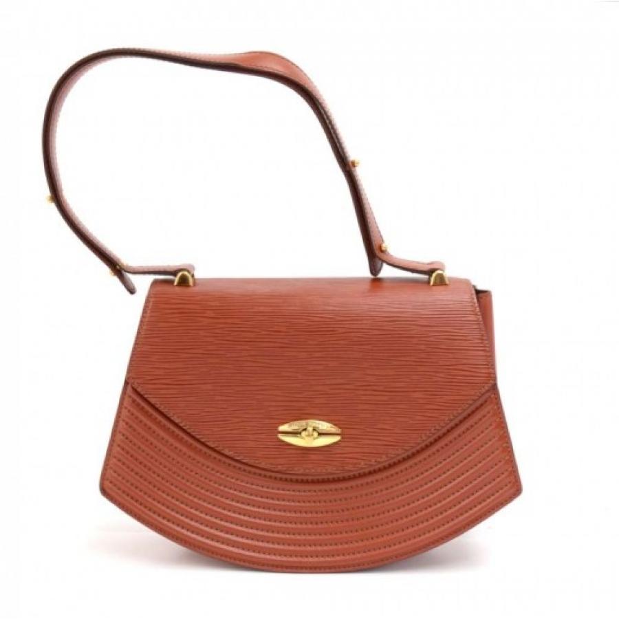 Vintage Louis Vuitton Tilsitt Brown Epi Leather Shoulder Pochette Bag