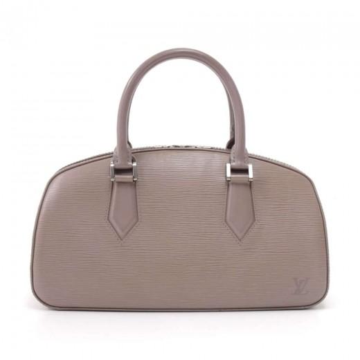 Louis Vuitton Jasmin Lilac Epi Leather Handbag