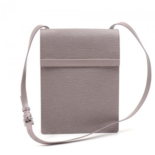 Louis Vuitton Ramatuelle Messenger Lilac Epi Leath...