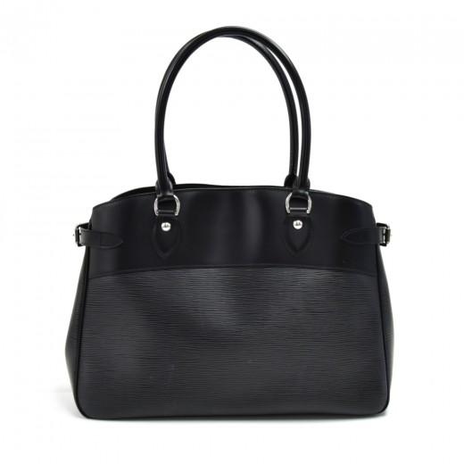 Louis Vuitton Passy GM Black Epi Leather Handbag