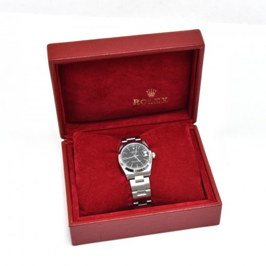 Rolex Oyster Perpetual Datejust Black Dial 31 mm C...