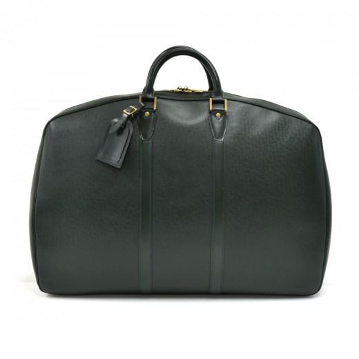 Vintage Louis Vuitton Helanga 1 Poche Green Taiga ...