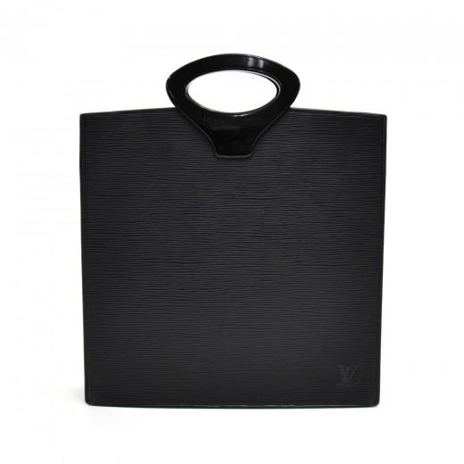 Vintage Louis Vuitton Ombre Black Epi Leather Tote...