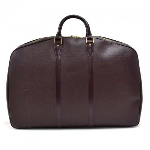 Vintage Louis Vuitton Helanga 1 Poche Burgundy Tai...