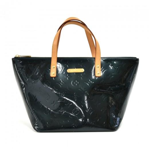 Louis Vuitton Bellevue PM Dark Green Vernis Leathe...