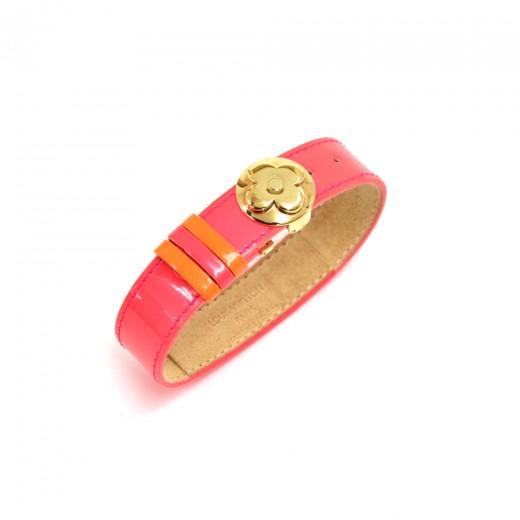 Louis Vuitton Good Luck Neon Pink & Orange Vernis ...