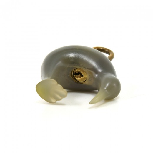 Louis Vuitton Kiwi Gray Rubber Padlock & Keys-LV Cup 2000 Limited Ed