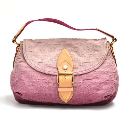 Louis Vuitton Sunray Rouge Monogram Denim Shoulder...