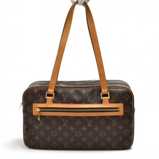 Louis Vuitton Cite GM Monogram Canvas Shoulder Bag