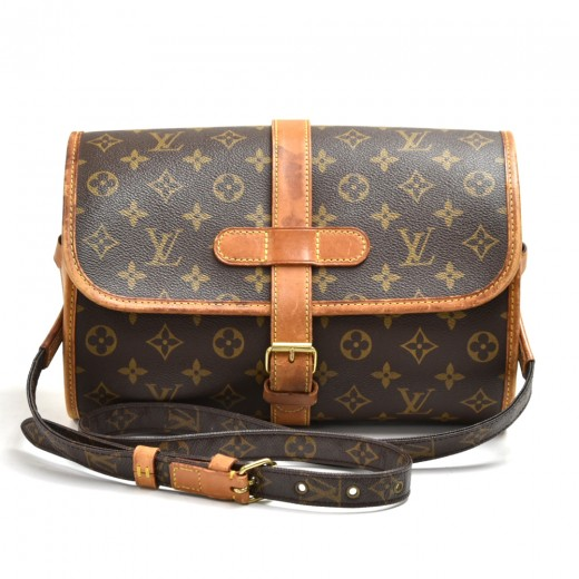 Louis Vuitton Marne Monogram Canvas Shoulder Bag
