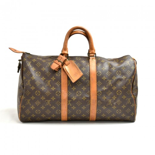 Vintage Louis Vuitton Keepall 45 Monogram Canvas D...