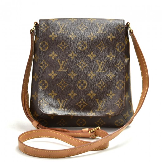 Louis Vuitton Musette Salsa Monogram Canvas Should...