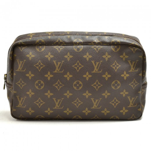 Vintage Louis Vuitton Trousse Toilette 28 Monogram...