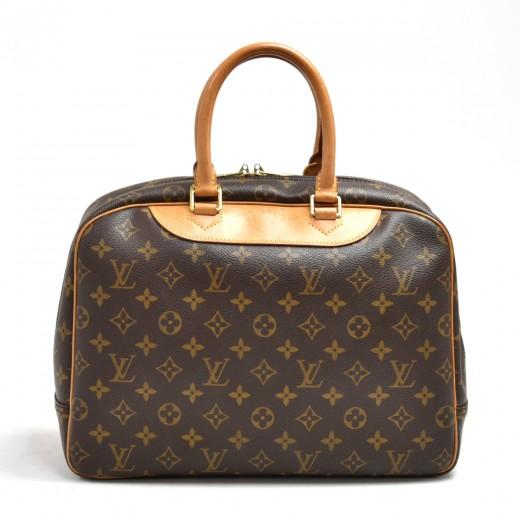 Vintage Louis Vuitton Deauville Monogram Canvas Handbag