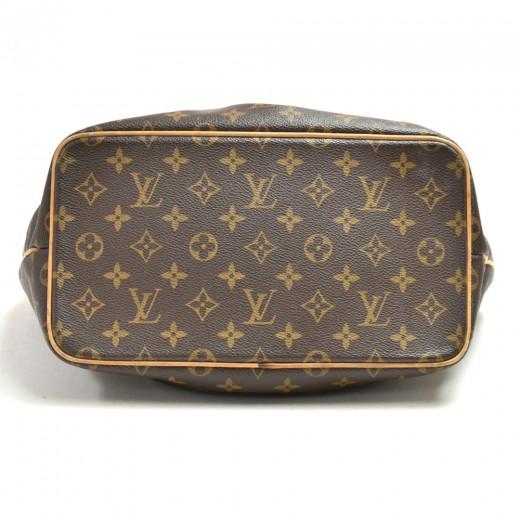 Louis Vuitton Palermo PM Monogram Canvas Tote Hand Bag + Strap