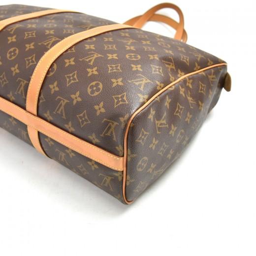 Vintage Louis Vuitton Monogram Frannery Monogram  Canvas Travel Bag