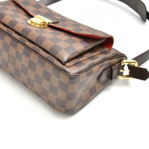 Louis Vuitton Ravello GM Ebene Damier Canvas Shoulder Bag