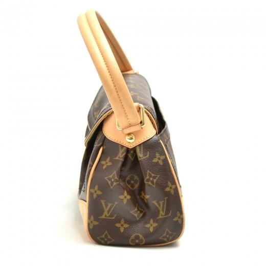 Louis Vuitton Beverly MM Monogram Canvas Shoulder Bag