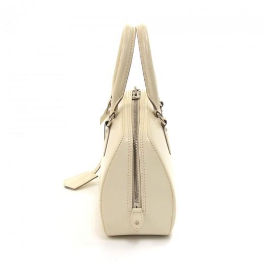 Louis Vuitton Jasmin White Epi Leather Handbag