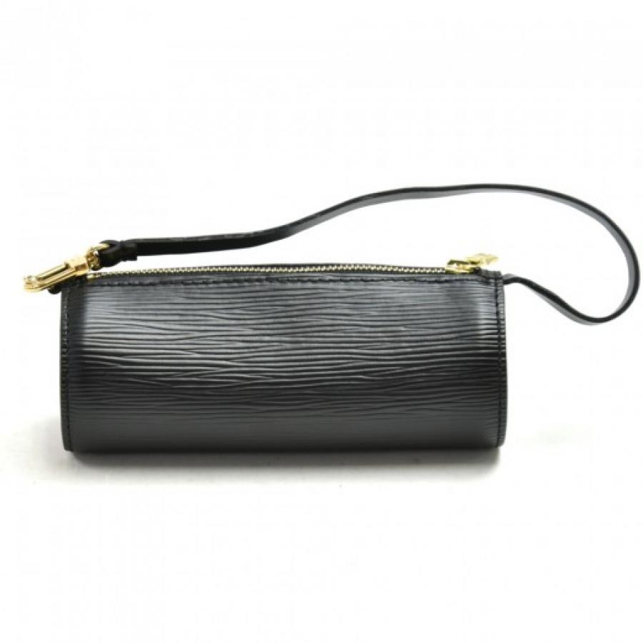 Louis Vuitton Pochette Papillon Black Epi Leather Gold Hardware Pouch Bag