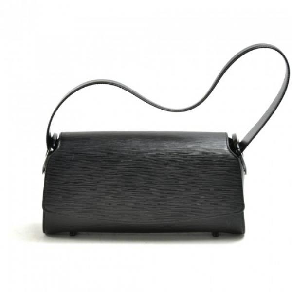 Louis Vuitton Nocturne GM Black Epi Leather Should...