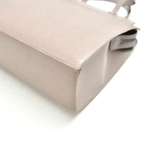 Louis Vuitton Croisette PM Lilac Epi Leather Handbag