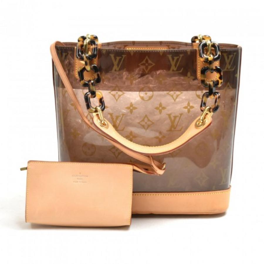 Vintage Louis Vuitton Sac Ambre PM Monogram Vinyl Tote Handbag - 2003 Limited