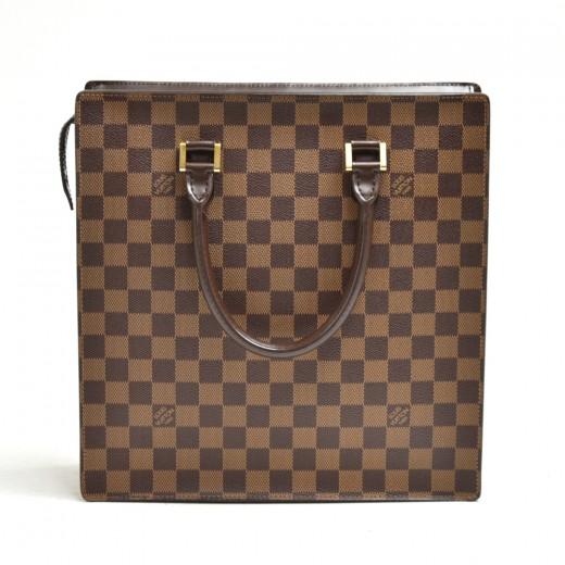 Vintage Louis Vuitton Venice PM Ebene Damier Canva...