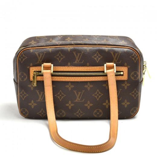 Louis Vuitton Cite MM Monogram Canvas Shoulder Bag