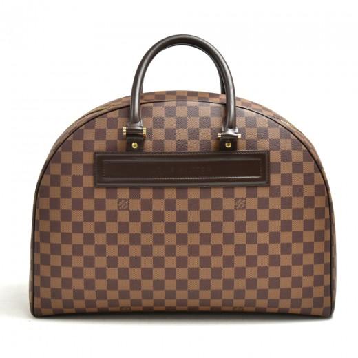 Vintage Louis Vuitton Nolita GM Ebene Damier Canva...