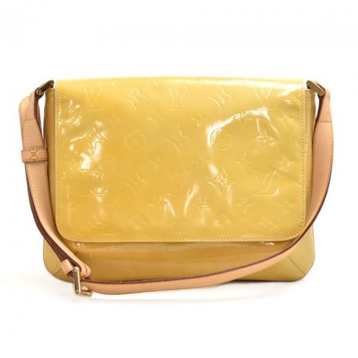 Vintage Louis Vuitton Thompson Street Yellow Verni...