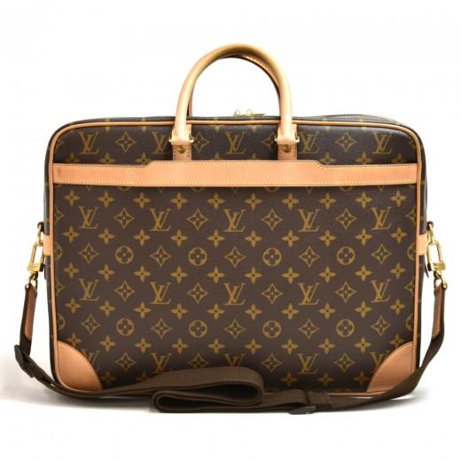 Louis Vuitton Porte Documents Voyage GM Monogram Canvas Briefcase Bag